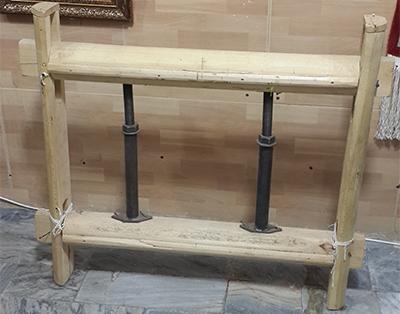 دار قالی چوبی