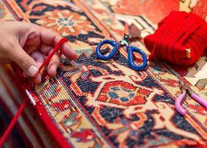 آموزش شیرازه زنی فرش